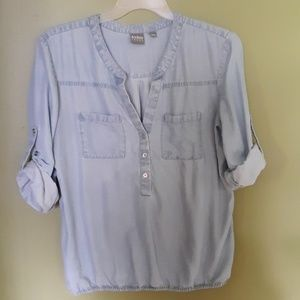 NY & Co Chambray tunic